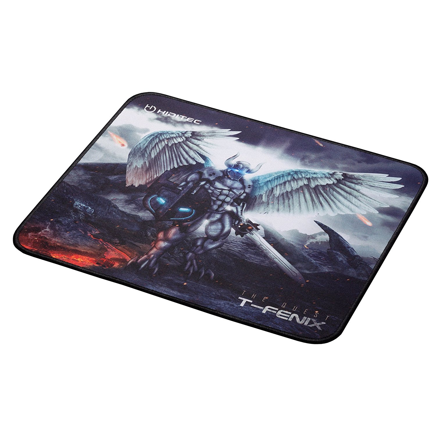 Hiditec - Alfombrilla gaming T-Fenix 450x400x3mm
