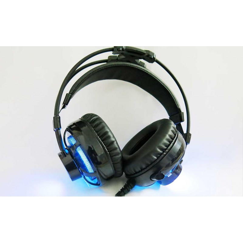Deep Ripple Gaming Headset Negro