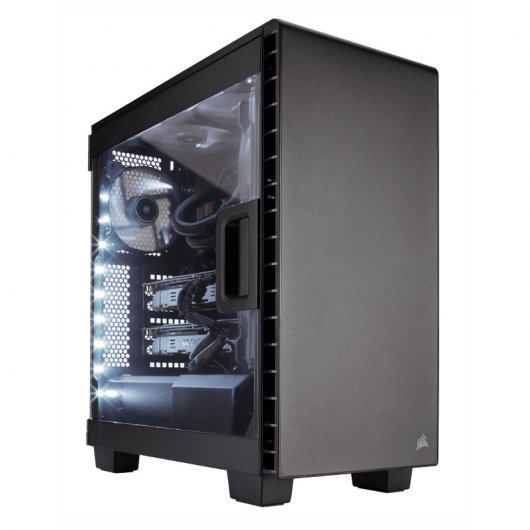 Corsair Carbide Clear 400C Negra con Ventana